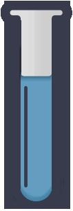 Blue Beaker