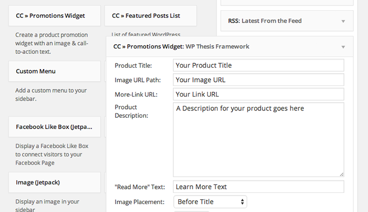 thesis feature box widget If you power your website with the thesis theme framework, there is a powerful, but often under-used, feature called the thesis feature box in short, the feature box can highlight just about anything.